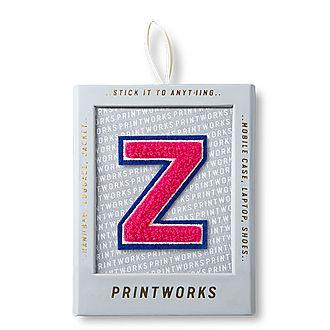 Fluffy Alphabet Sticker: Z