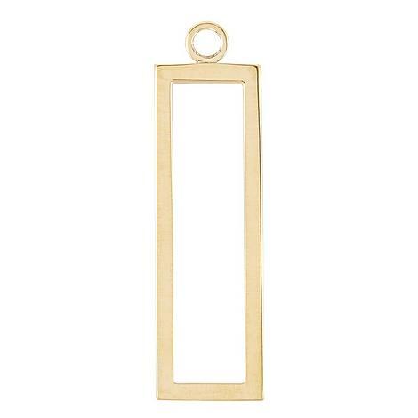 Rectangle Gold Hoop Plaque, ${color}