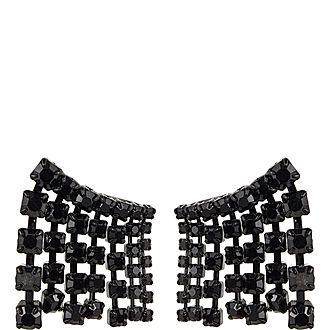Crystal Waterfall Earrings