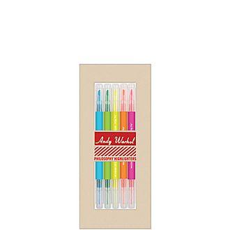 Andy Warhol Highlighter Set