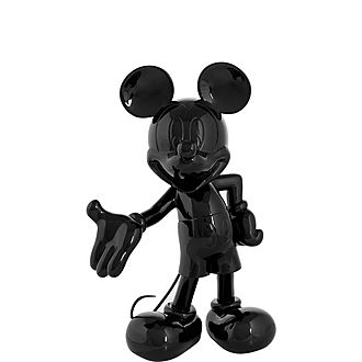 Lacquer Mickey Mouse Welcome Figurine 30cm