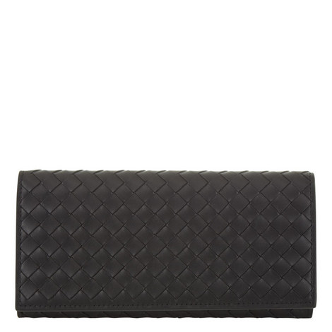 Long Slim Flap Wallet, ${color}