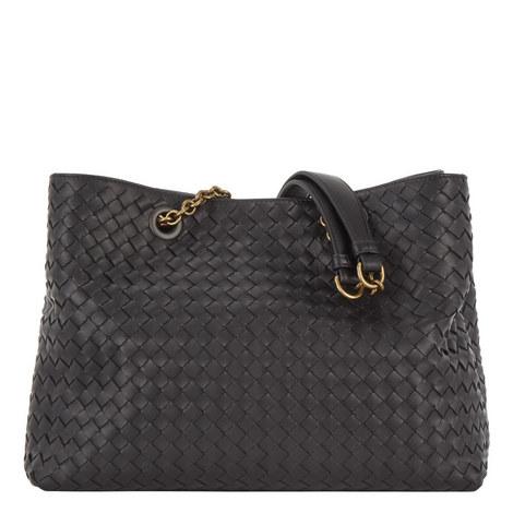 Chain Tote Bag Medium, ${color}