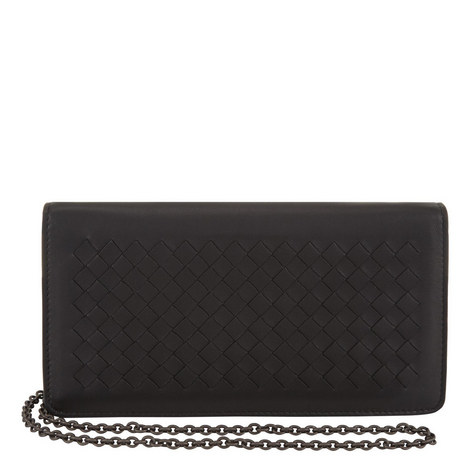 Leather Chain Wallet, ${color}