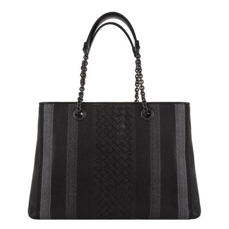Embroidered Shopper Bag, ${color}