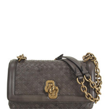 Olympia Knot Shoulder Bag Small