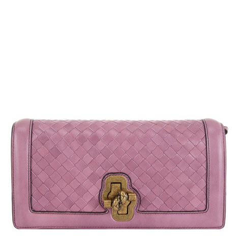 Knot Clutch Bag Small, ${color}