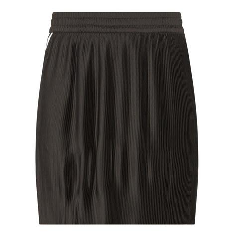 Three-Stripe Pleated Mini Skirt, ${color}