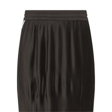 Three-Stripe Pleated Mini Skirt