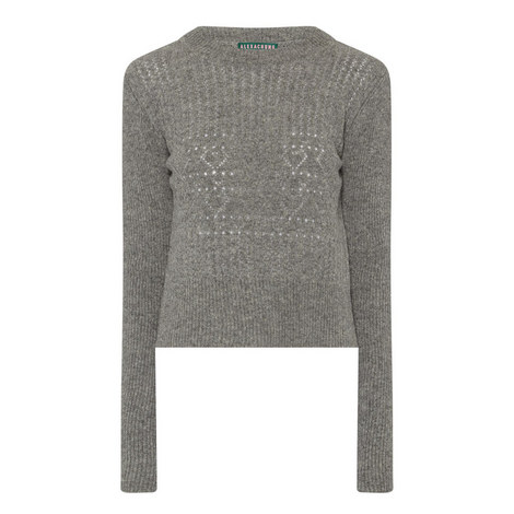Perforated Wool Sweater, ${color}