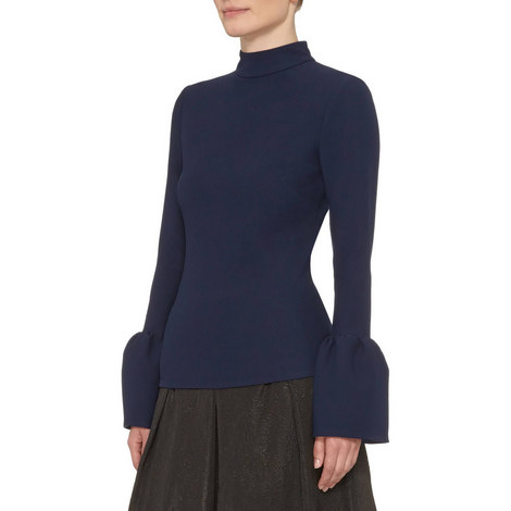 Exaggerated Cuff Top, ${color}