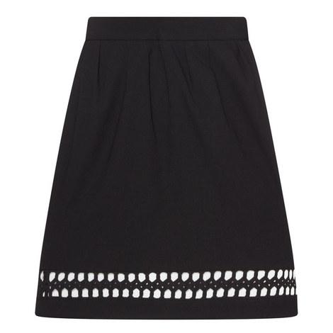 Frida Cut Out Mini Skirt, ${color}