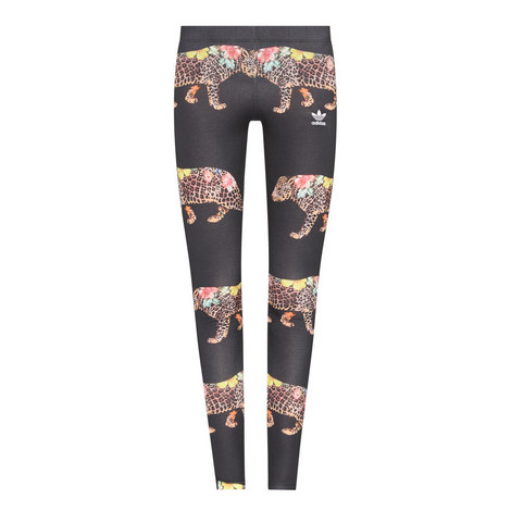 Oncada Jaguar Print Leggings, ${color}