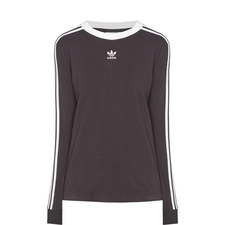 Long Sleeve Three-Stripe T-Shirt