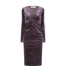 Flockton Velvet Dress