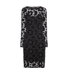 Basset Velvet Lace Dress