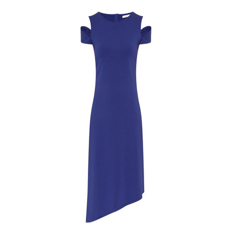 Carey Split Shoulder Dress, ${color}