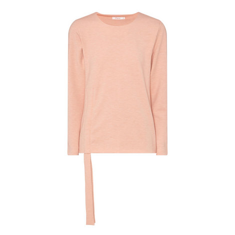Odessa Ruched Jersey Top, ${color}