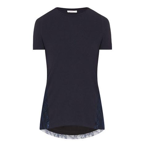 Vienna Lace Back T-Shirt, ${color}