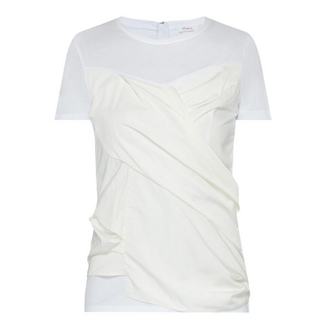 Foxberry Contrast Panel T-Shirt, ${color}