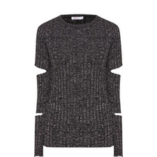 Helmsley Split Knitted Top