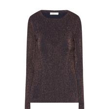 Roxwell Lurex Knitted Top