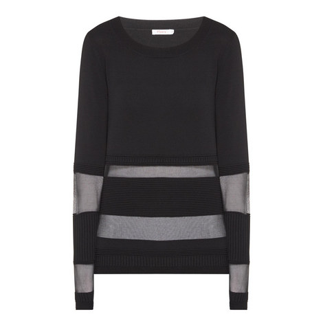 Craster Mesh Stripe Sweater, ${color}
