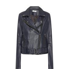 Vernon Leather Biker Jacket
