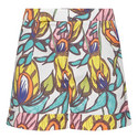 Sundown Floral Vine Shorts, ${color}