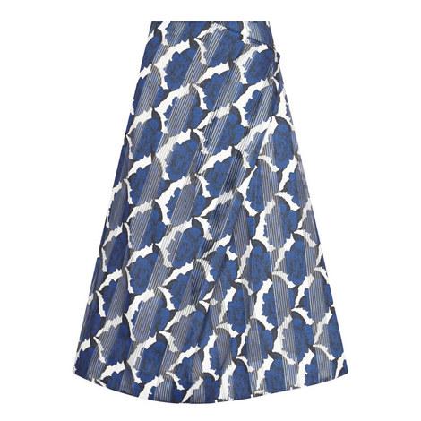 Cambridge China Rose Print Skirt, ${color}