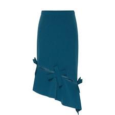 Tie Hem Skirt