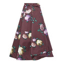 Floral Full Skirt, ${color}