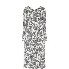 Logan Zebra Print Dress
