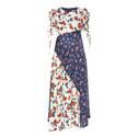 Ashness Multi-Rose Print Dress, ${color}