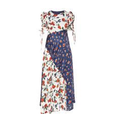 Ashness Multi-Rose Print Dress