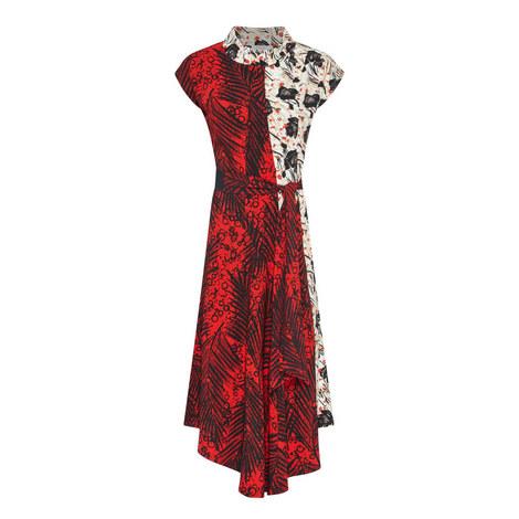 Elfort Print Midi Dress, ${color}
