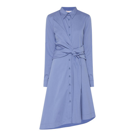 Dulwich Knot Shirt Dress, ${color}
