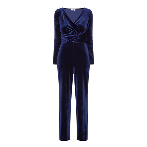 Hatfield Velvet Jumpsuit, ${color}