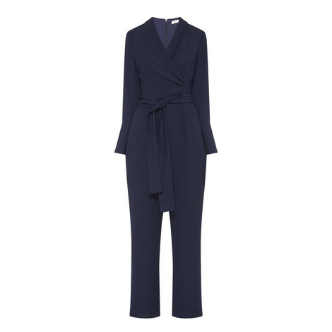 Godman Belted Overall Jumpsuit, ${color}