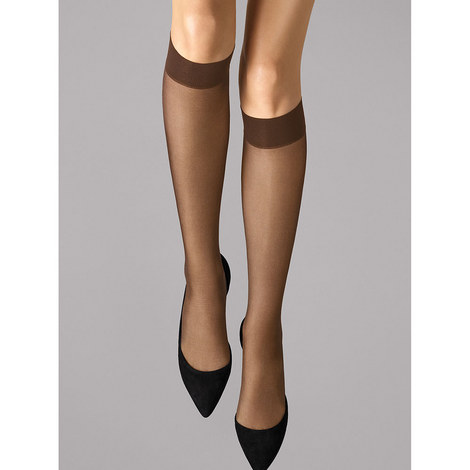 Satin Touch 20 Knee-Highs, ${color}