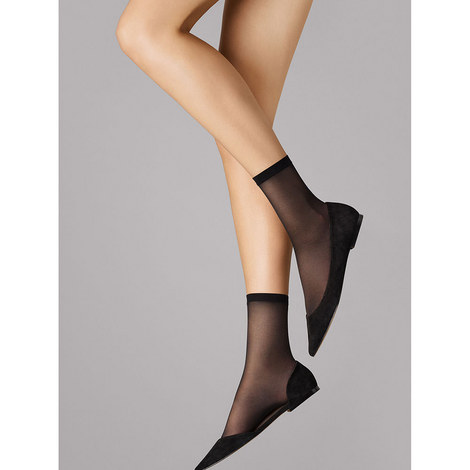 Satin Touch 20 Ankle Socks, ${color}