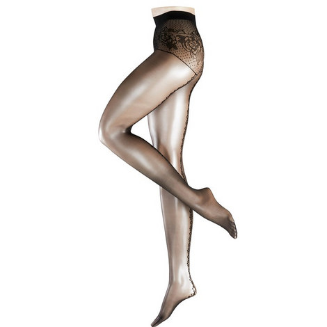 Enchanied 15 Denier Seamed Tights, ${color}