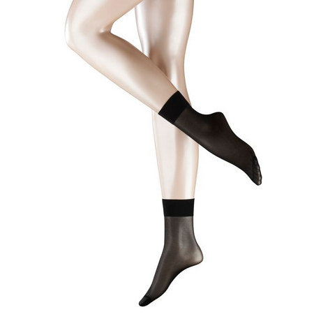 Seidenglatt '15' Anklet Socks, ${color}