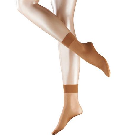 Seidenglatt '15' Anklet Socks, ${color}