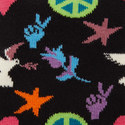 Peace & Love Socks, ${color}