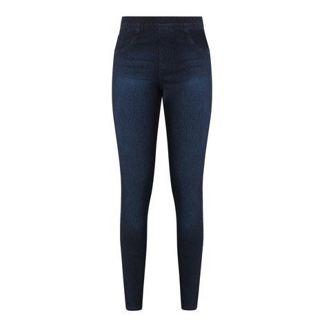 Ankle Jean-Ish Leggings, ${color}