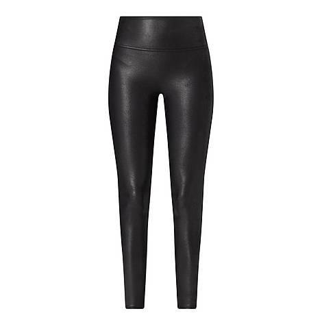 Faux-Leather Leggings, ${color}