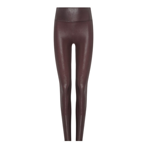 Faux Leather Leggings, ${color}
