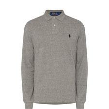 Custom Fit Long Sleeve Polo Shirt