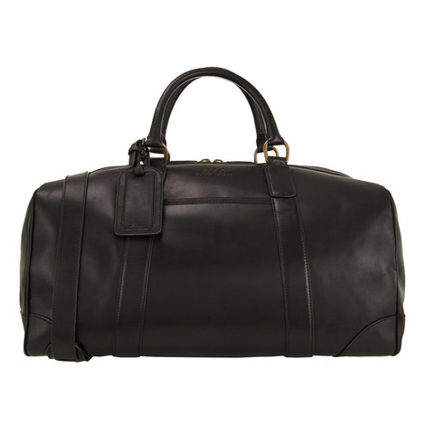 Leather Holdall Bag, ${color}